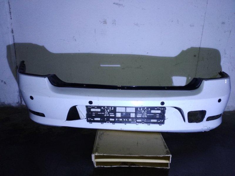 Бампер Renault Logan 1 2009 задний (б/у)