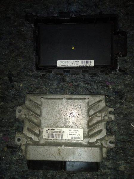 Блок управления двигателем (эбу) Renault Symbol 2 2008 (б/у)