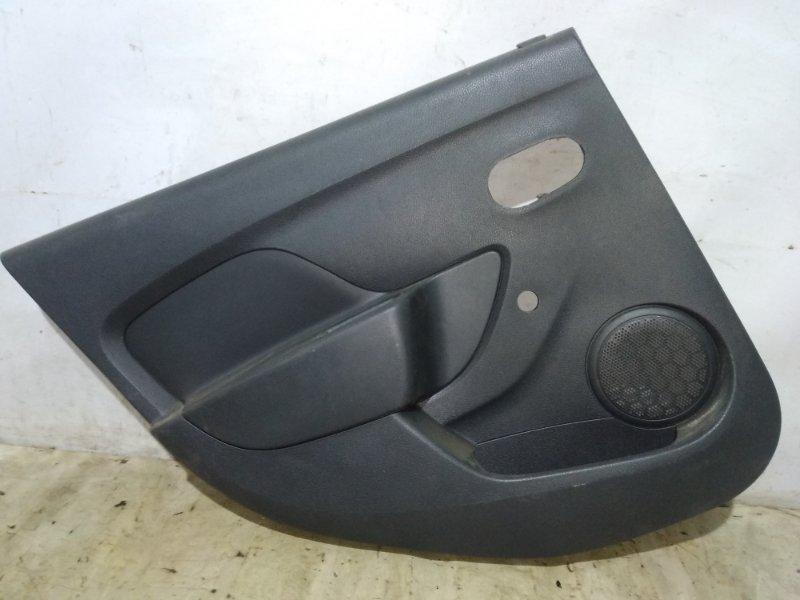 Обшивка двери Renault Logan 2 L8 K7M 2014 задняя левая (б/у)