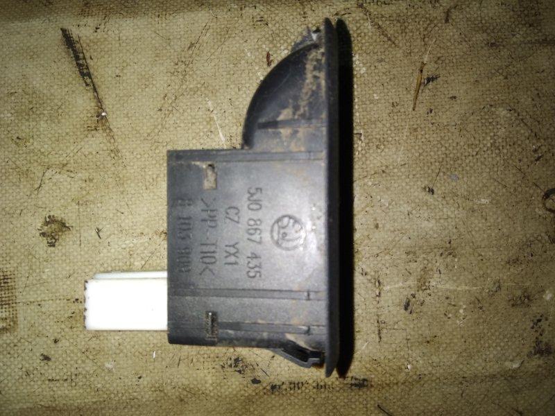 Кнопка стеклоподъемника Skoda Fabia 2013 задняя левая (б/у)