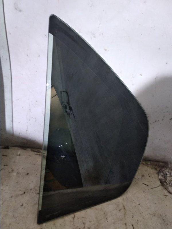 Форточка двери Renault Logan 2 L8 K4M 2015 задняя левая (б/у)
