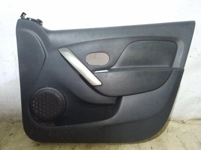 Обшивка двери Renault Logan 2 L8 K4M 2015 передняя правая (б/у)