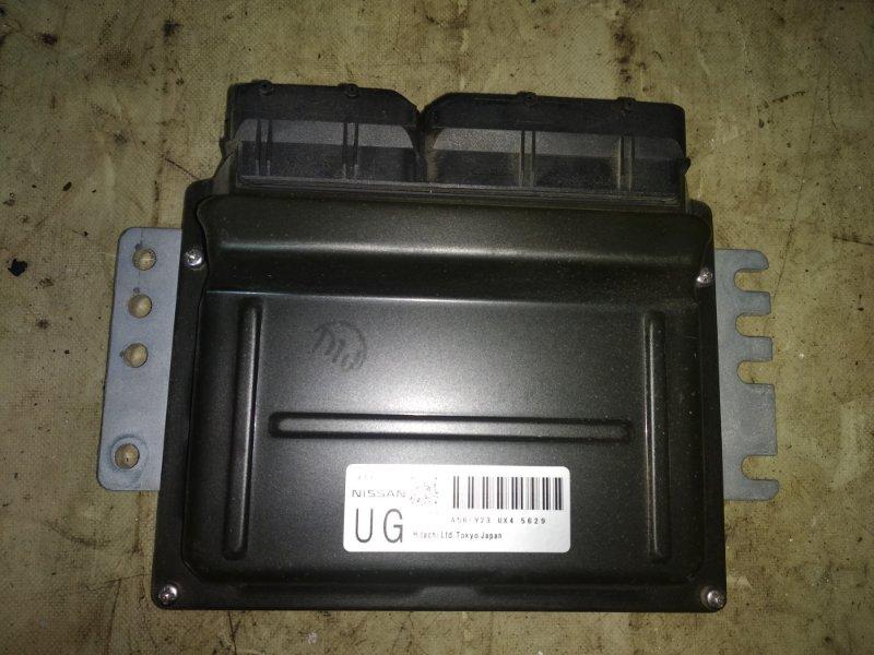 Блок управления двигателем (эбу) Nissan X-Trail QR20DE 2005 (б/у)