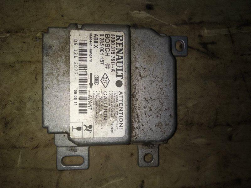 Блок управления srs (безопасности) Renault Symbol 1 LB0C K7J 2005 (б/у)