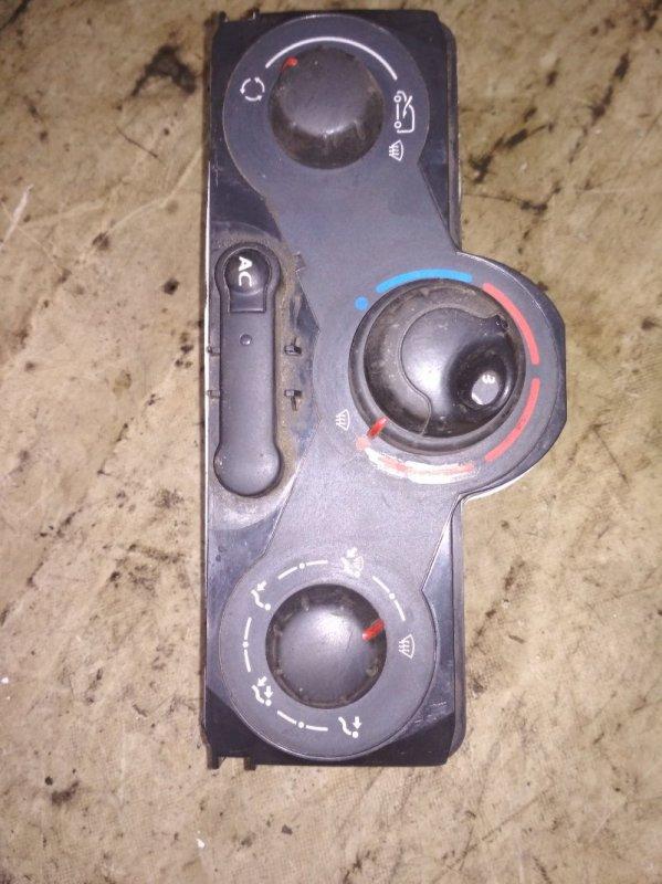 Блок управления отопителем Renault Kangoo 2 KWOY K7M 2011 (б/у)