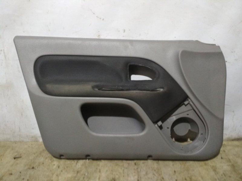 Обшивка двери Renault Symbol 2 LU01 2008 передняя левая (б/у)