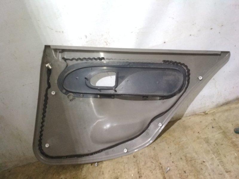 Обшивка двери Renault Symbol 2 LU01 2008 задняя левая (б/у)