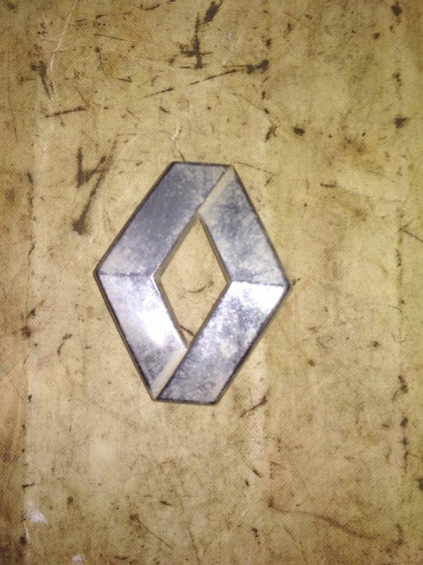 Эмблема Renault Kangoo 2 KWOY K7M 2011 задняя (б/у)