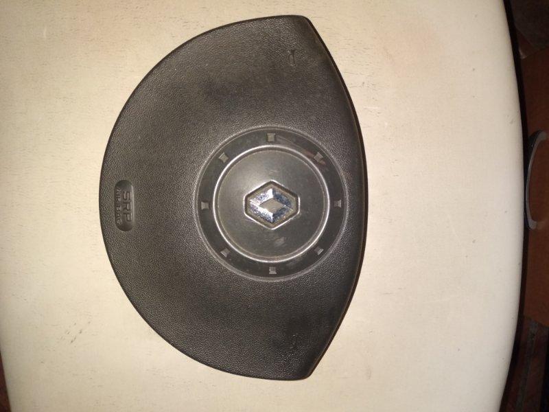 Подушка безопасности в руль Renault Megane 2 LM K4J 2005 передняя левая (б/у)
