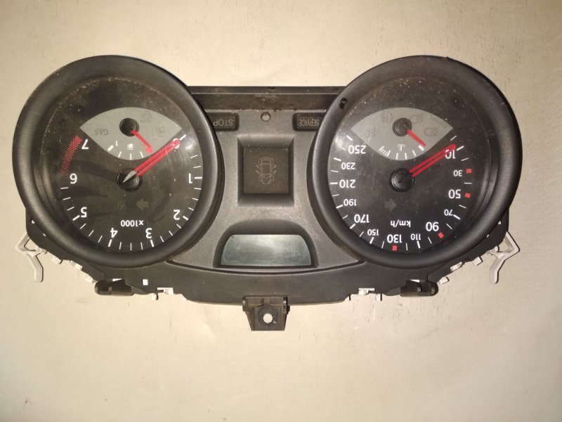 Панель приборов Renault Megane 2 LM K4J 2005 передний (б/у)