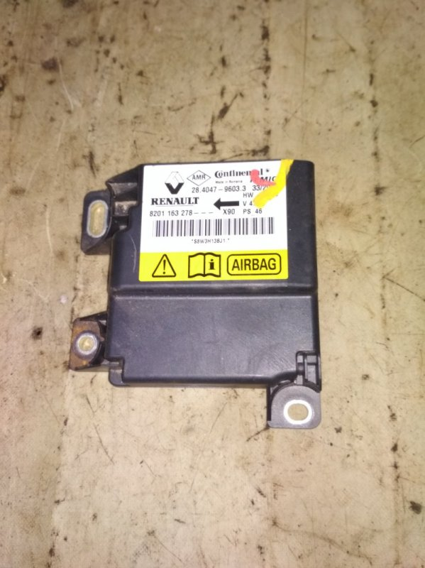 Блок управления srs (безопасности) Renault Logan 1 LS0H K7J 710 2013 (б/у)