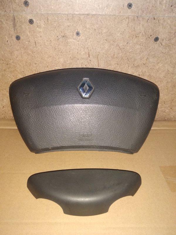 Подушка безопасности в руль Renault Laguna 2 К4M 2002 передняя левая (б/у)