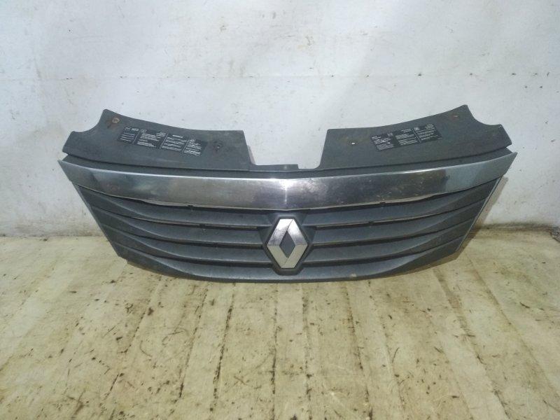 Решетка радиатора Renault Logan 1 LS0H K7J 710 2013 передняя (б/у)