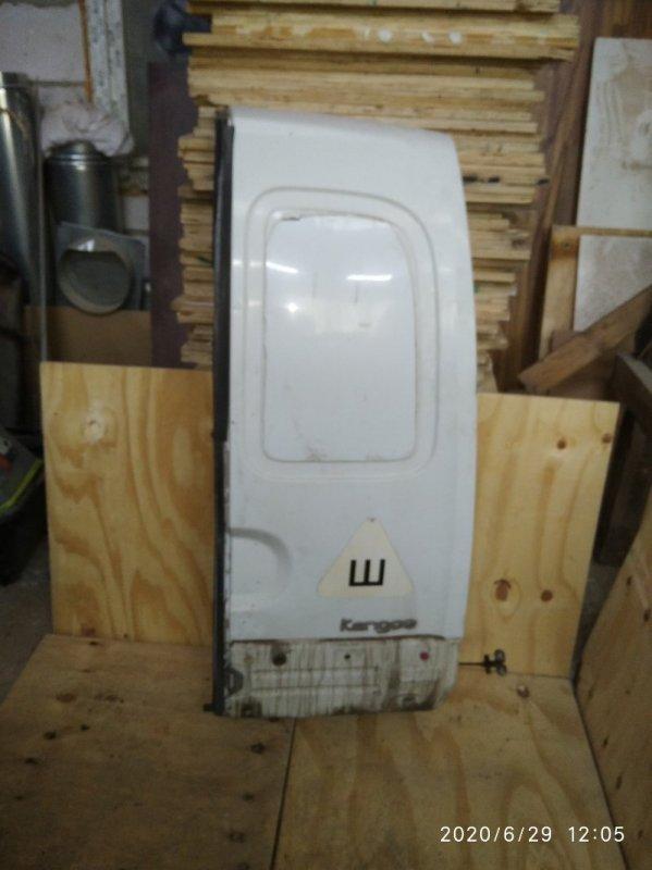 Дверь багажника Renault Kangoo 1 1998 задняя (б/у)