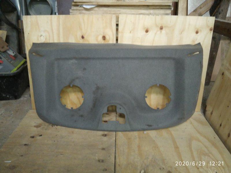Обшивка крышки багажника Renault Kangoo 1 2008 задняя (б/у)