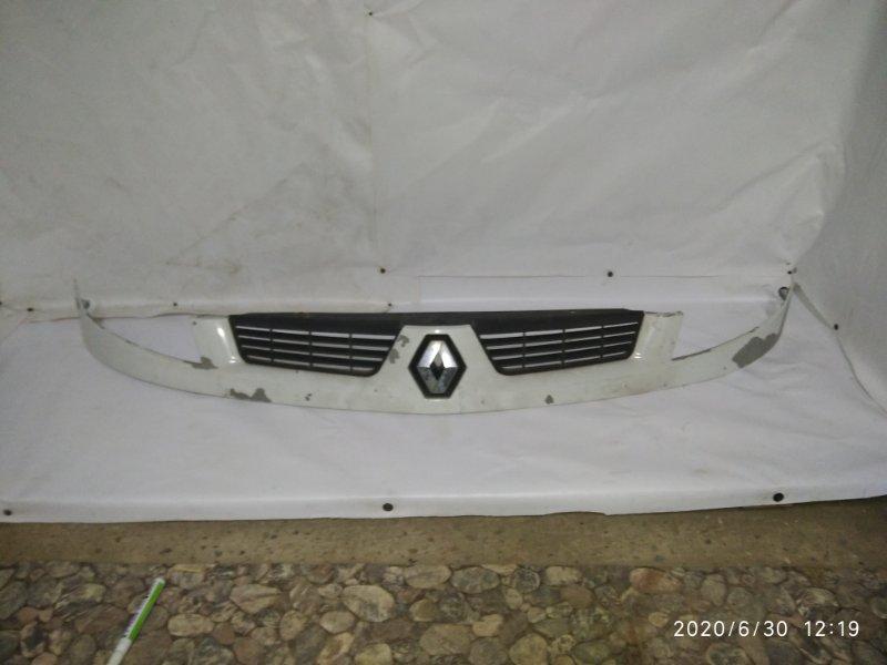 Решетка радиатора Renault Kangoo 1 1998 передняя (б/у)