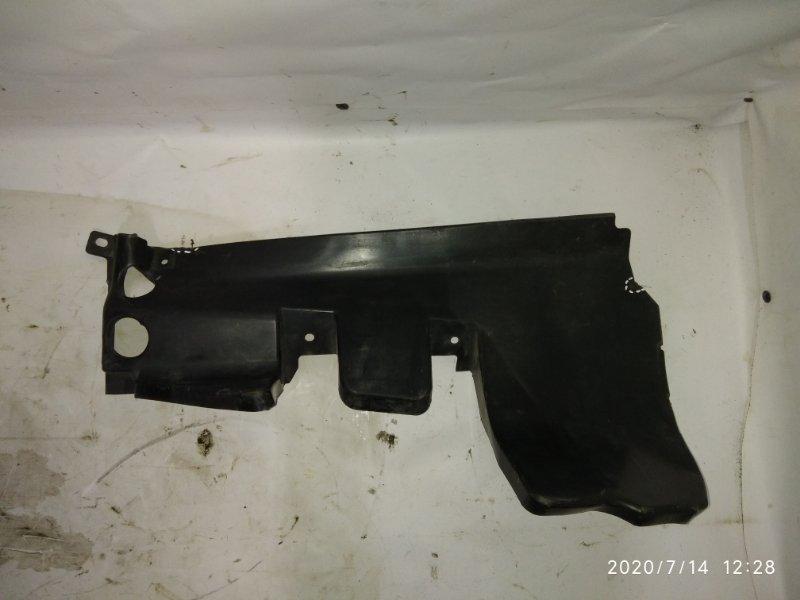 Дефлектор радиатора (пыльник) Nissan Almera G15 правый (б/у)
