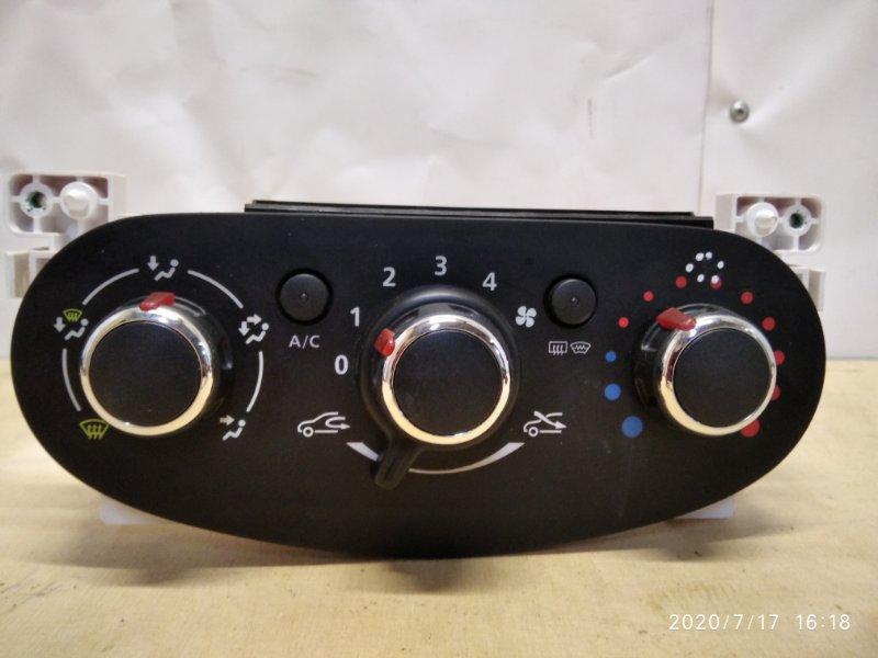 Блок управления отопителем Renault Logan 2 L8 H4M (б/у)