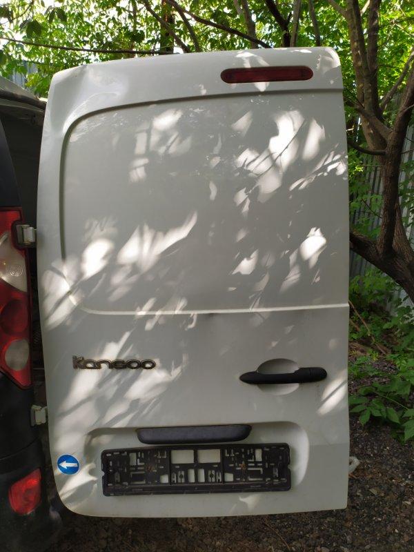 Дверь багажника Renault Kangoo 2 KWO задняя левая (б/у)