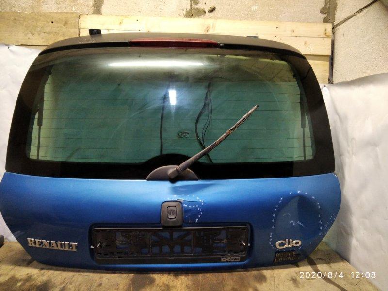 Дверь багажника Renault Clio 2 2001 задняя (б/у)