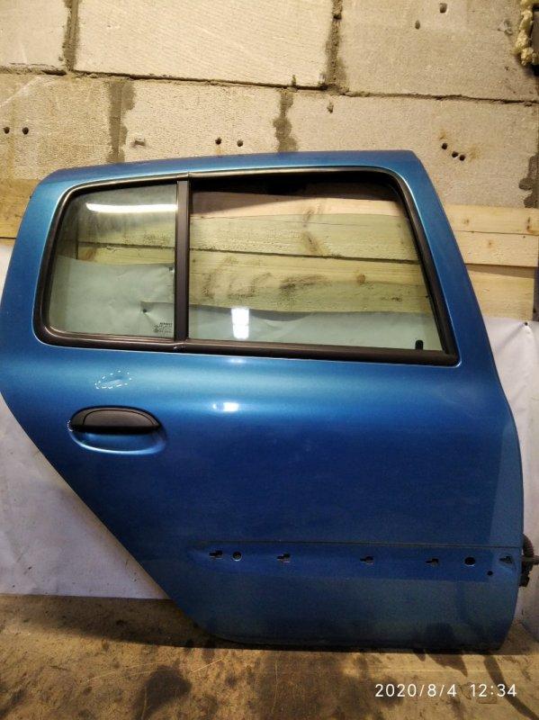 Дверь Renault Clio 2 2001 задняя правая (б/у)