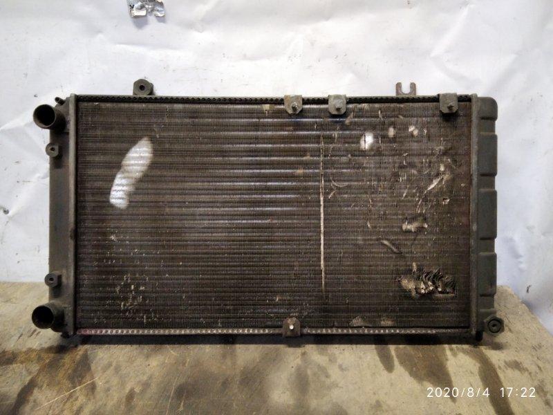 Радиатор охлаждения Lada Kalina 2004 (б/у)