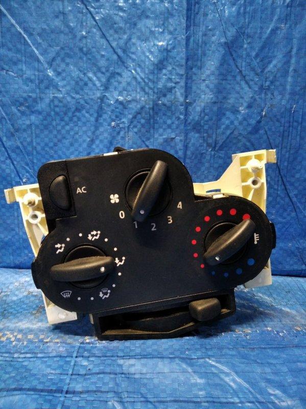 Блок управления отопителем Renault Logan 1 1.6 2008 (б/у)