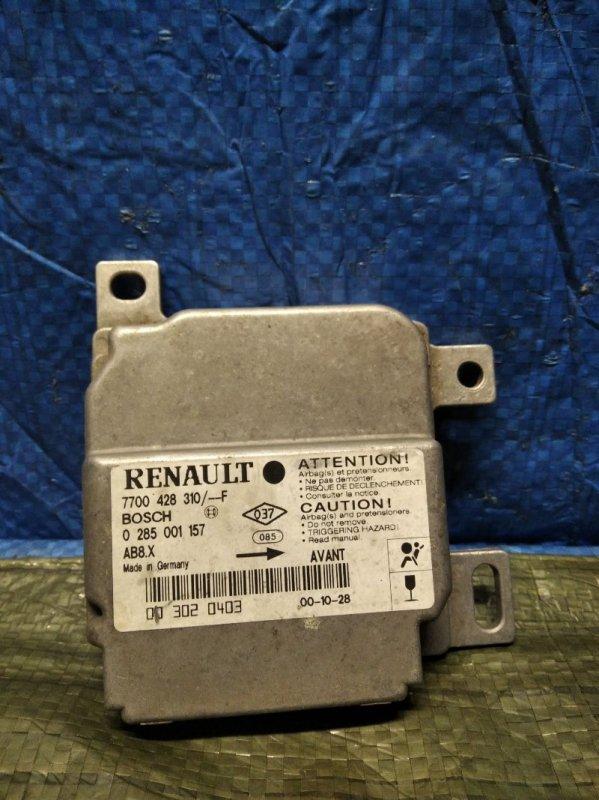 Блок управления srs (безопасности) Renault Symbol 1 2002 (б/у)