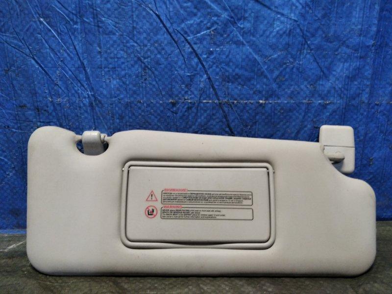 Козырек солнцезащитный Nissan Almera G15 K4M передний правый (б/у)