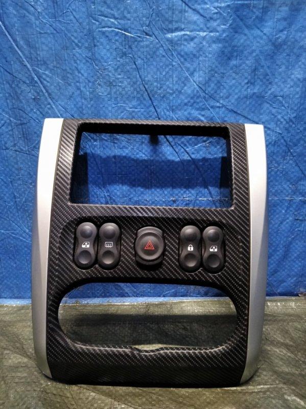 Рамка магнитолы Nissan Almera G15 K4M (б/у)