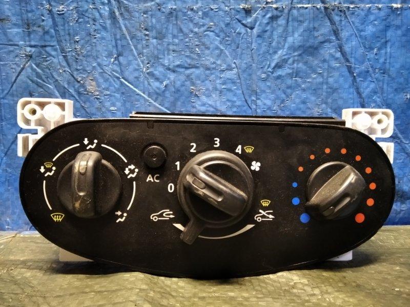 Блок управления отопителем Nissan Almera G15 K4M (б/у)