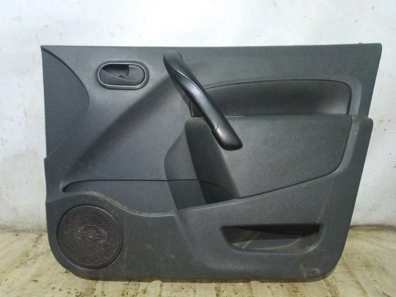 Обшивка двери Renault Kangoo 2 KWOY K7M 2011 передняя правая (б/у)