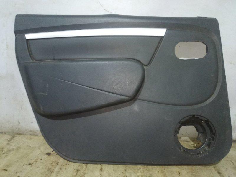 Обшивка двери Lada Largus задняя левая (б/у)