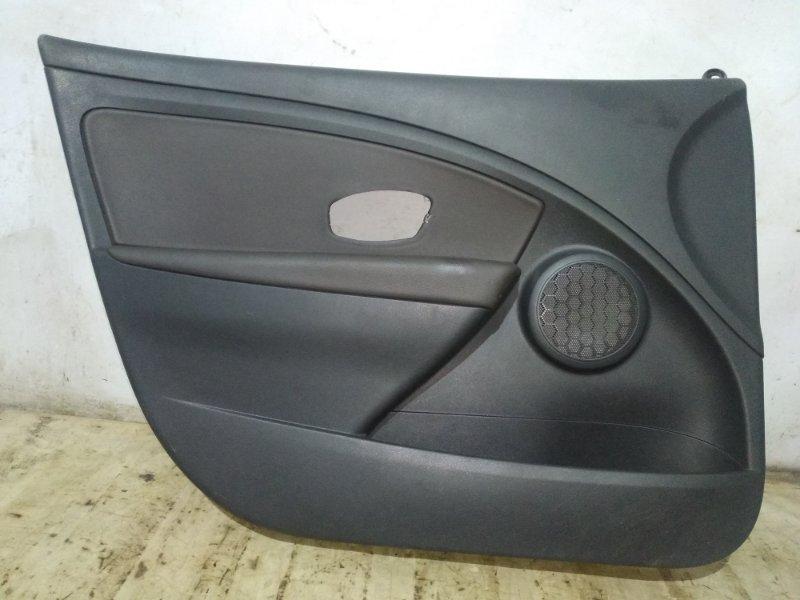 Обшивка двери Renault Fluence 2014 передняя левая (б/у)