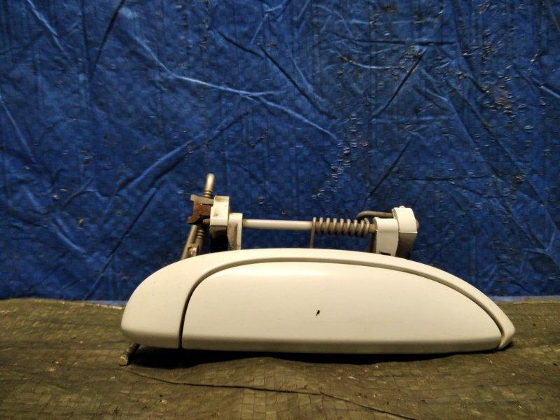 Ручка двери внешняя Lada Largus 2012 задняя правая (б/у)