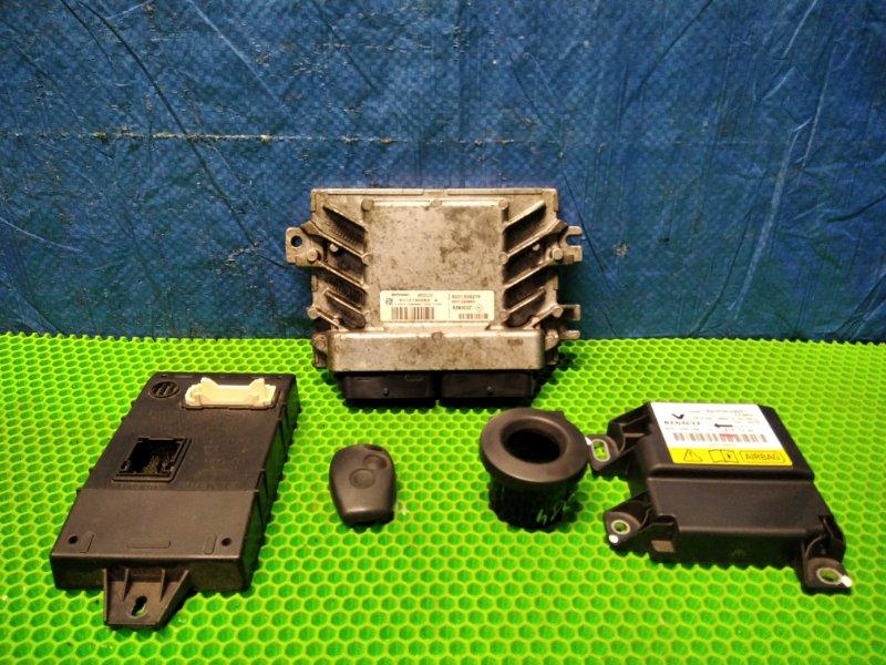 Блок управления двигателем (эбу) Nissan Almera G15 K4M (б/у)