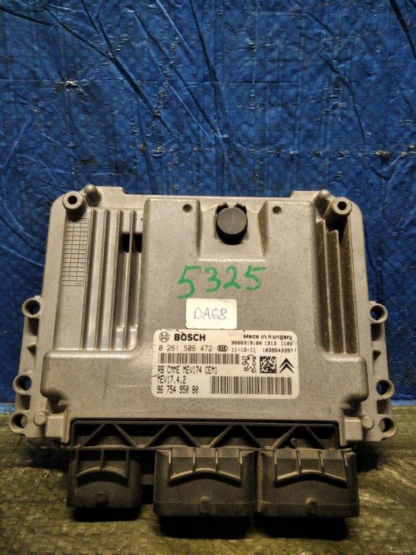Блок управления двигателем (эбу) Peugeot Partner 2008 (б/у)