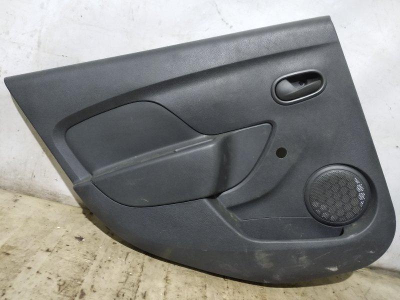 Обшивка двери Renault Logan 2 L8 K7M 812 2015 задняя левая (б/у)