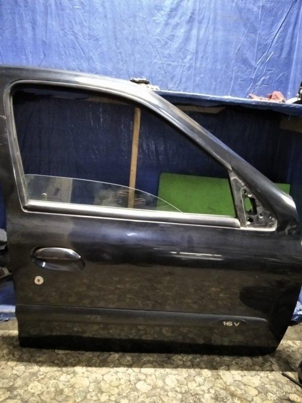 Дверь Renault Clio 2 2001 передняя правая (б/у)