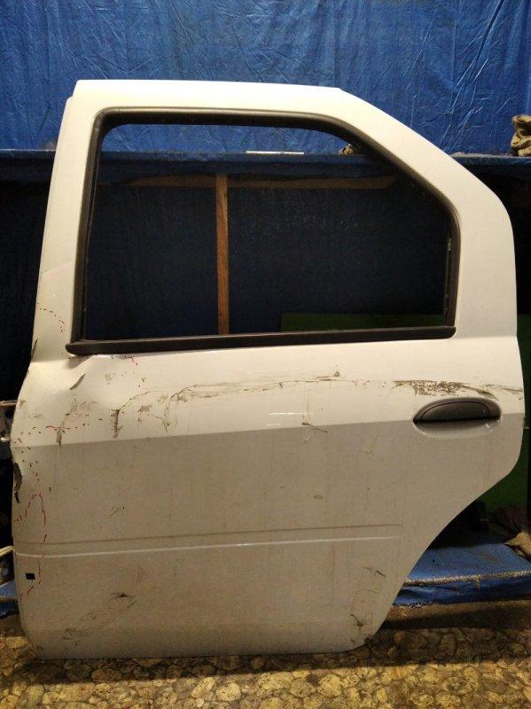 Дверь Renault Logan 1 2004 задняя левая (б/у)