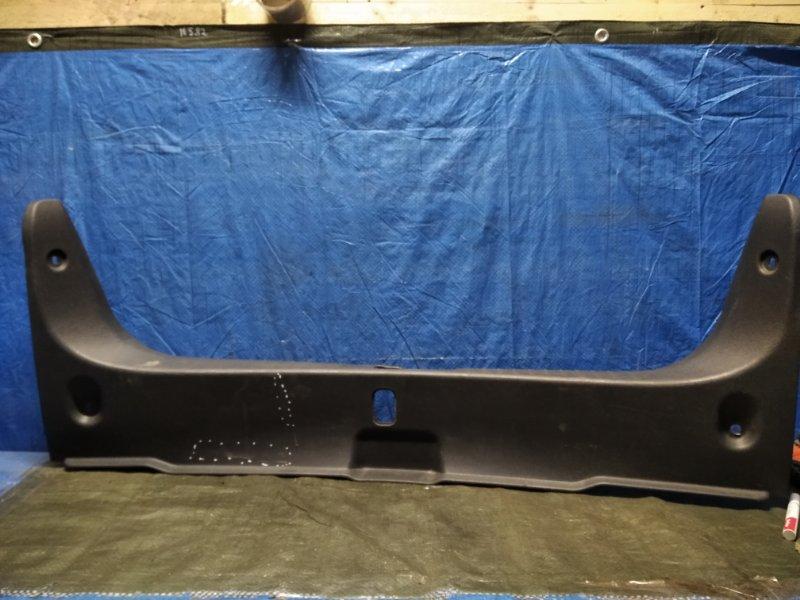 Обшивка багажника Nissan Almera G15 2012 задняя (б/у)