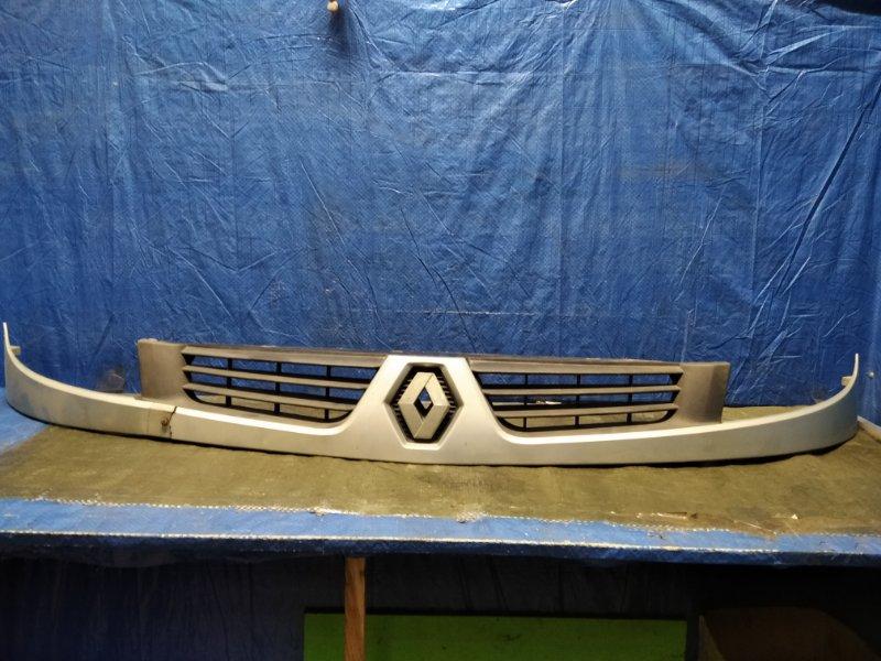 Решетка радиатора Renault Kangoo 1 2003 (б/у)