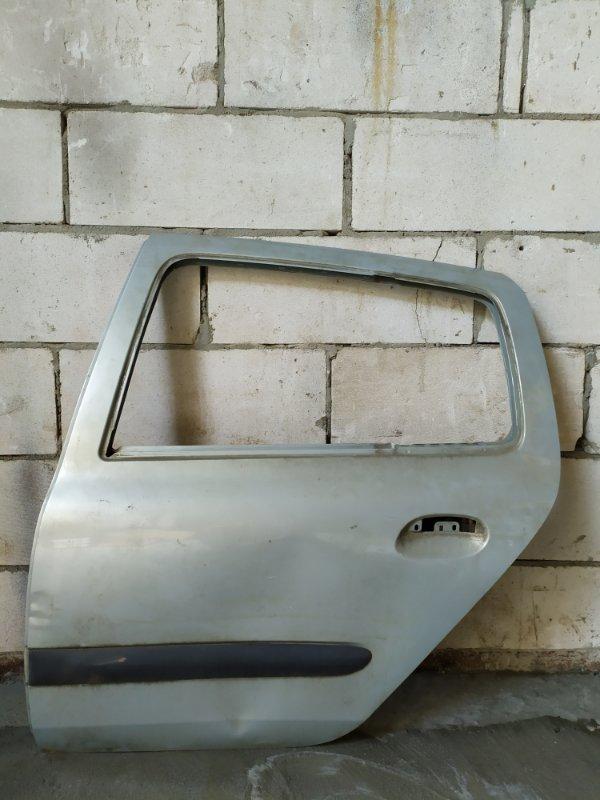 Дверь Renault Clio 2 2001 задняя левая (б/у)