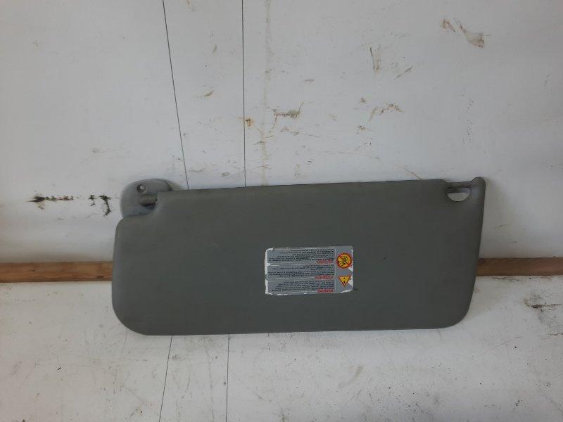 Козырек солнцезащитный Renault Kangoo 1 F8QK630 1.9 Л ДИЗЕЛЬ 2002 правый (б/у)