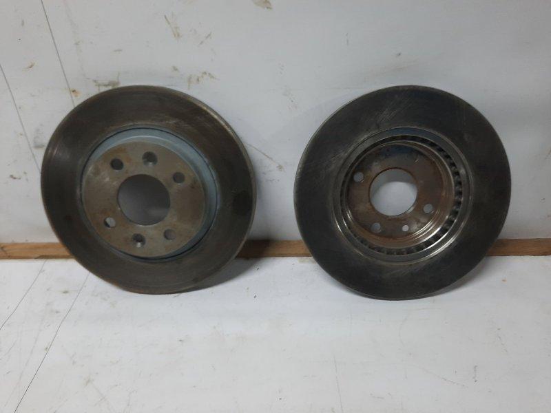 Тормозной диск Renault Kangoo 1 F8QK630 1.9 Л ДИЗЕЛЬ 2002 (б/у)