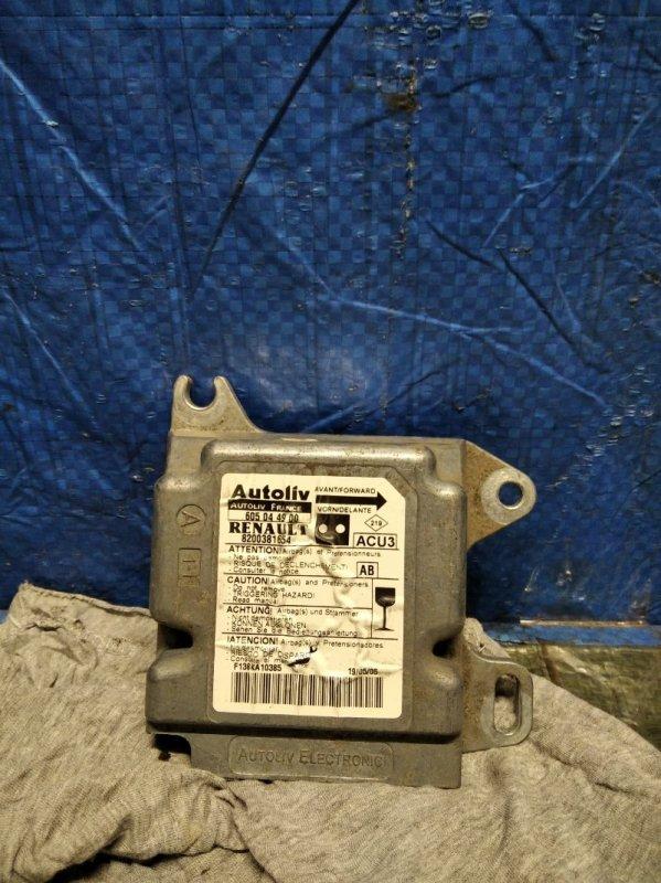 Блок управления srs (безопасности) Renault Kangoo 1 2005 (б/у)
