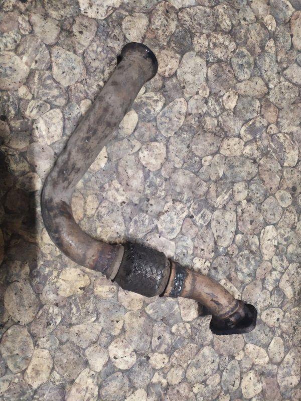 Приемная трубка глушителя Renault Kangoo 1 F8QK630 1.9 Л ДИЗЕЛЬ 2002 (б/у)