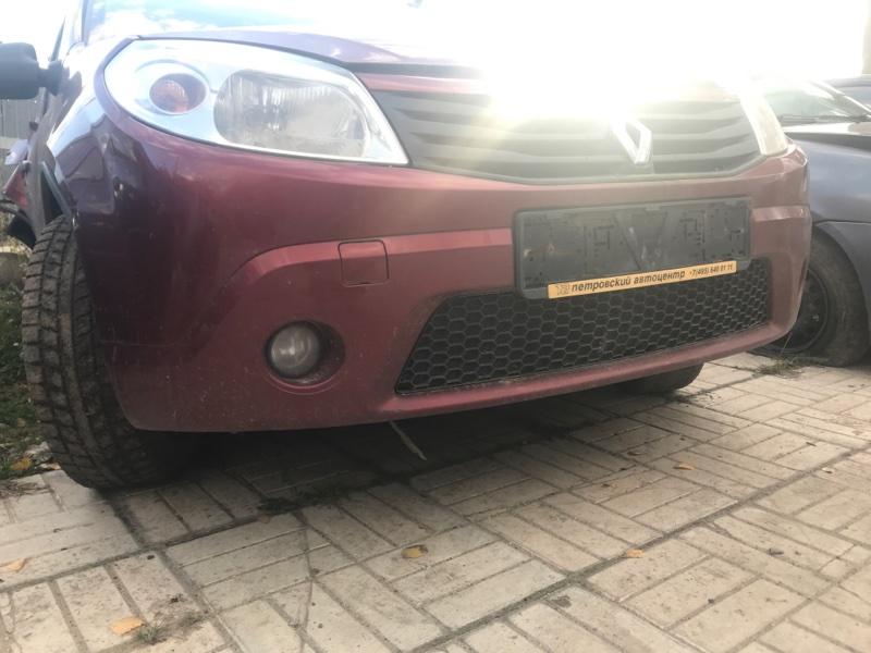 Бампер Renault Sandero 1 K7J A710 2011 передний (б/у)