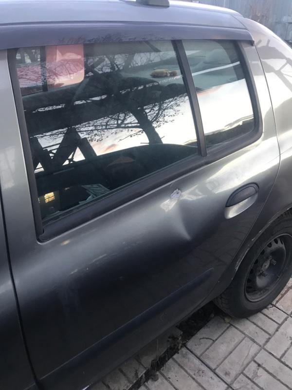 Дверь Renault Symbol 1 K4J 2003 задняя левая (б/у)