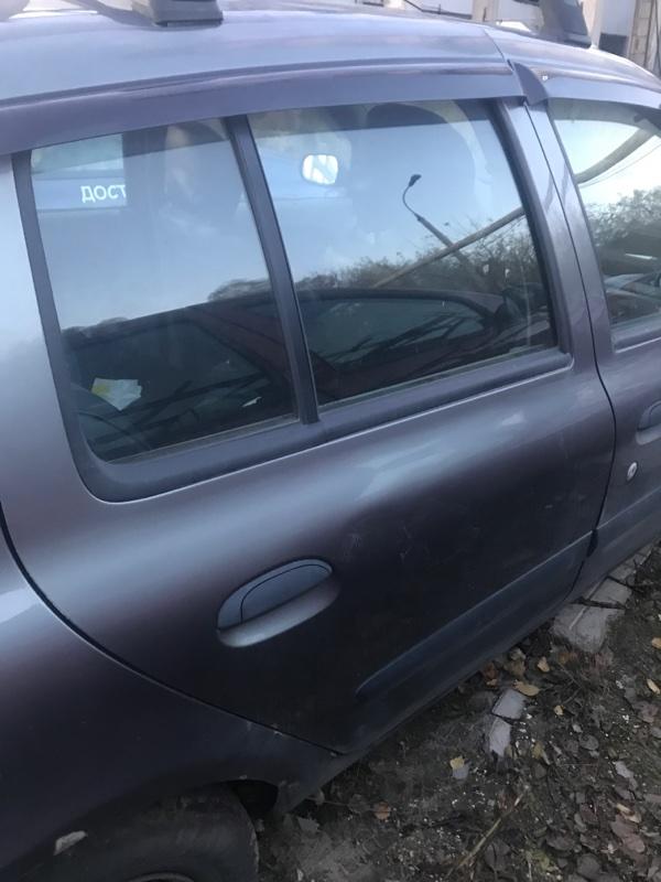 Дверь Renault Symbol 1 K4J 2003 задняя правая (б/у)